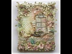 Such a Pretty Mess: Mixed Media VIDEO TUTORIAL {Dusty Attic Designs}