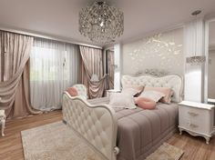 Mesmerizing Gray And Pink Bedroom Decor Top Home Decoration For Interior Design Styles with Gray And Pink Bedroom Decor, Bedroom Drapes, Bedroom Ideas, Awesome Bedrooms, Beautiful Bedrooms, Transitional Home Decor, Luxury Bedroom Design, Interior Decorating Styles, Decorating Ideas