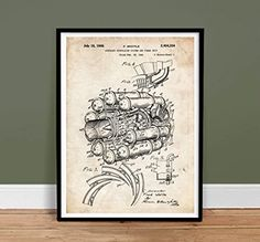 FIRST US JET AIRPLANE ENGINE 1946 FRANK WHITTLE PATENT PRINT 18X24 POSTER GIFT UNFRAMED Steves Poster Store http://www.amazon.com/dp/B00NGW63BY/ref=cm_sw_r_pi_dp_VJtbxb0Y4HGHD