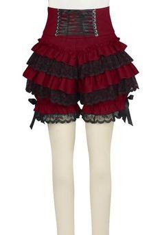 Steampunk Lolita Cinch Waisted Lace Ruffle Bloomers – Go Steampunk Gothic Steampunk, Steampunk Clothing, Steampunk Fashion, Victorian Fashion, Steampunk Leggings, Steampunk Cosplay, Gothic Fashion, Ruffle Bloomers, Lace Ruffle