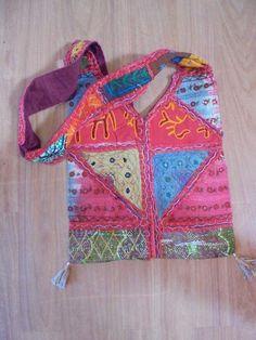 große Taschen aus Indien Beutel Goa Hippie Bollywood  neu handgemacht Nr. 3