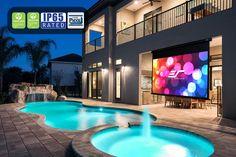Yard Master Manual Series - Outdoor Projector Screens - Elite Screens
