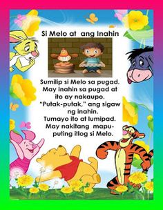 Practice reading with these Tagalog Reading Passages. These can be useful for remedial instruction or can be posted in your classroom wal. Stories With Moral Lessons, Moral Stories For Kids, Short Stories For Kids, Reading Stories, Kids Story Books, Reading Passages, 1st Grade Reading Worksheets, Grade 1 Reading, Phonics Reading