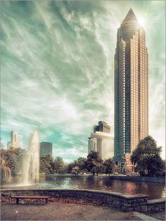 Poster Frankfurt Messeturm
