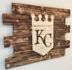 Kansas City Royals wood sign by MonogramedMemories on Etsy