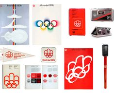Montréal 1976 Olympic identity Mara Gourd-Mercado of Montréal-based Identity Design, Visual Identity, Brand Identity, Web Design, Logo Design, Graphic Design, Montreal, 1976 Olympics, Summer Olympics