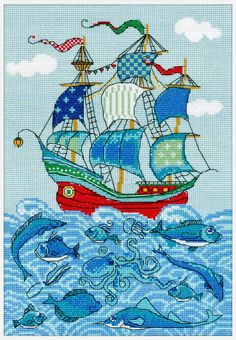 1465 Sailboat @ www.riolis.com