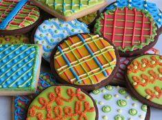 Beautiful Cookie Decoration Ideas - biscoito, bolacha, amanteigado -
