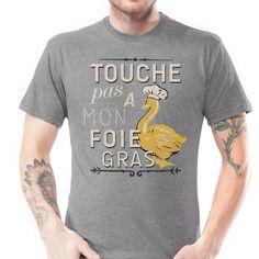 Don't Touch My Foie Gras!! - Men's S/S Crew