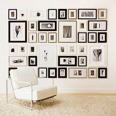 Create a photo gallery wall ideas
