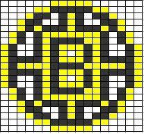 ChemKnits: Bruins Logo Knitting Chart