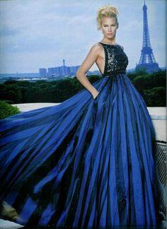 blue Paris by suzette
