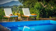 Our View and Outdoor - Villa Natura Zante - Outside there is a paved yard with a new private swimming pool where you can swim all day, enjoy some coctails. Greece Holidays, Swimming Pools, Villa, Yard, City, Outdoor Decor, Home Decor, Lush, Swiming Pool