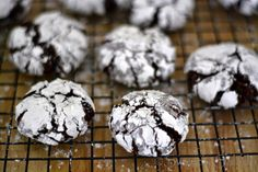 Sweet y Salado: Galletas Crinkles (Agrietadas) de Chocolate