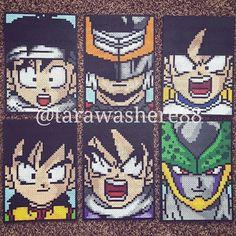 Gettin' shit done! #perlerbeads #perler #hama #hamabeads #fusebeads #beadart #kandi #rave #plur #sprites #pixel #pixelart #fanart #dbz #dragonball #dragonballz #goku #vegeta #trunks #bulma #broly #anime #manga #cell #frieza #animeart #dbzart #dbgt #dbsuper