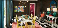 Modern Dining Room Color