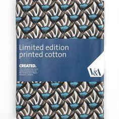Shells'' V Quilting Fabric - Fat Quarter (50 x 75cm)