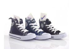 Trampki dziecięce American Club - DZIECIĘCE Converse Chuck Taylor High, Converse High, High Top Sneakers, Chuck Taylors High Top, High Tops, Shoes, Fashion, Moda, Zapatos