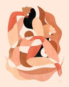 Likes, 34 Comments - maggie Painting Inspiration, Art Inspo, Feminist Art, Figurative Art, Female Art, Painting & Drawing, Design Art, Art Projects, Art Drawings