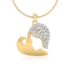The Haynia Diamond Pendant P-0026YG