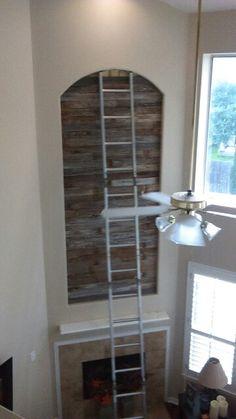 Sparta Decor, Furniture, Wood, Barnwood Wall, Barn Wood, Entryway Tables, Wall, Ladder Decor, Entryway