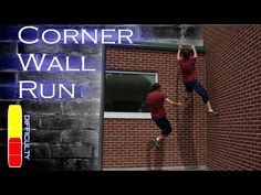 How to CORNER WALL RUN - Parkour Tutorial - YouTube