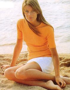 Francoise Hardy - 1960s model, actress, musician, and muse. Quadruple threat anyone?