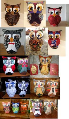 Our famous hootie has many friends all over the world!
