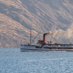 Steamboat crossing, Lake Wakatipu, Queenstown, New Zealand .. #earnslaw #steamboat #wakatipu #queenstown  #purenz #nzroadtrip #kiwiexperience #mustdonz #newzealand #kiwisummer #travel #traveltheworld #travelwithme #visitnz #travelnz #nztravel #travelnewzealand #travelnzwithme #nzsouthisland #southisland #newzealandtrip #travelplanner #itineraryplanner #travelitineraryplanner #travaa New Zealand Lakes, New Zealand Travel, Itinerary Planner, Travel Planner, Nz South Island, Ben Lomond, Queenstown New Zealand, Lake Wakatipu, Milford Sound