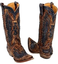 EAGLE Boots by Old Gringo - #CowgirlChic