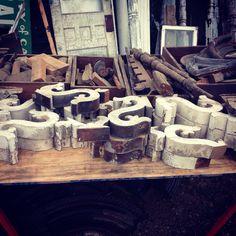 Architectural salvage @marshalls Antique Warehouse