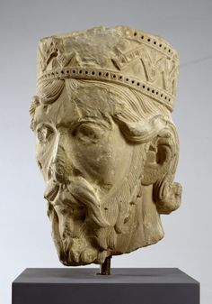 Head of an Old Testament King, Europe, ca. 1140