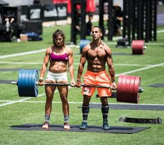 Make Yourself A Slave to Good Habits (Nuno and Lauren of Team Invictus at the CrossFit Games 2015)
