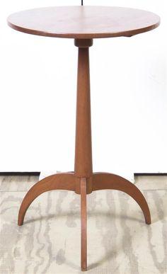 Датский стиль Тик Свеча Стенд, высота 25 х диаметр 16 лучших дюймов.