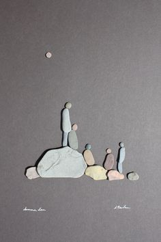 Pebble Art of Nova Scotia, by Sharon Nowlan.