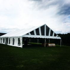 Sunburst Gable Ends on this beautiful tent. Wind rated for strength and even more impressive on the inside. & Tents Unlimited (tentsunlimited) on Pinterest