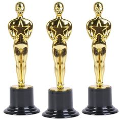 Oscar Star Trophies for Award Ceremonies or Parties 6 High - Perfect Achievement Awards or Birthday Gifts for Kids and Adults *** To view further for this item, visit the image link.