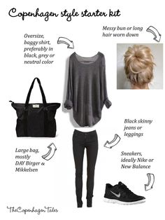 Copenhagen style outfit - a starter kit