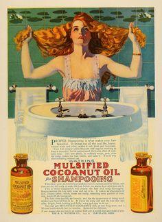 Coles Phillips advertisement for coconut oil.