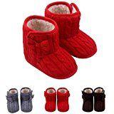 #10: BOBOLover Bebé Botas de Algodón Caliente InviernoZapatos Casuales Bowknot Suela Blanda Recién Nacidos --          http://ift.tt/2hLQBep          #zapato #zapatos #zapatosdemoda