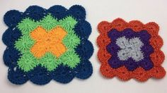 In this article, we will explore the Catherine Wheel Stitch Squares for both Trebles and Double Crochet Versions.