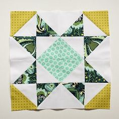 Quilt pattern Sawtooth Star Quilt Block Pattern