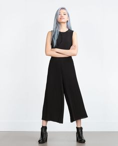 Image 1 of PLEATED SKORT from Zara