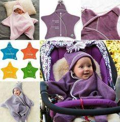Easy baby snow suit