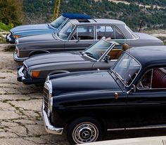 What a lineup! . Join in and send us your classic pic along with your IG handle to mbclassic@mbusa.com . #benz #classicstyle #classiccarsdaily #instagood #fanfriday #instamoments #oldcar #cargramm #cartastic #carporn #classicpic #mbenz #carpics #goodtimes #likes #timeless #style #elegance #lifestyle #oldschool . Photo: @mzalzale