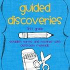 Guided Discoveries are used to establish the norms and routines for the use, care, and storage of materials.   You will find papers to go along with Guided Discoveries for pencils, crayons, markers, and scissors. You will also find five easy steps to a Guided Discovery to help you plan your lesson.