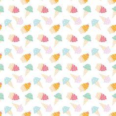 *NEW Ice Cream Cones Photo Backdrop: