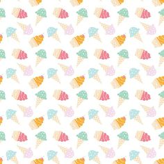 *NEW Ice Cream Cones Photo Backdrop: