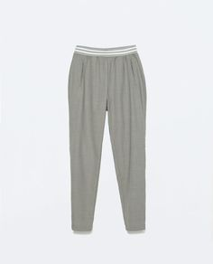 TROUSERS WITH WAISTBAND from Zara