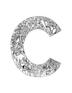 9 Pics Of Alphabet Letter C Coloring Pages